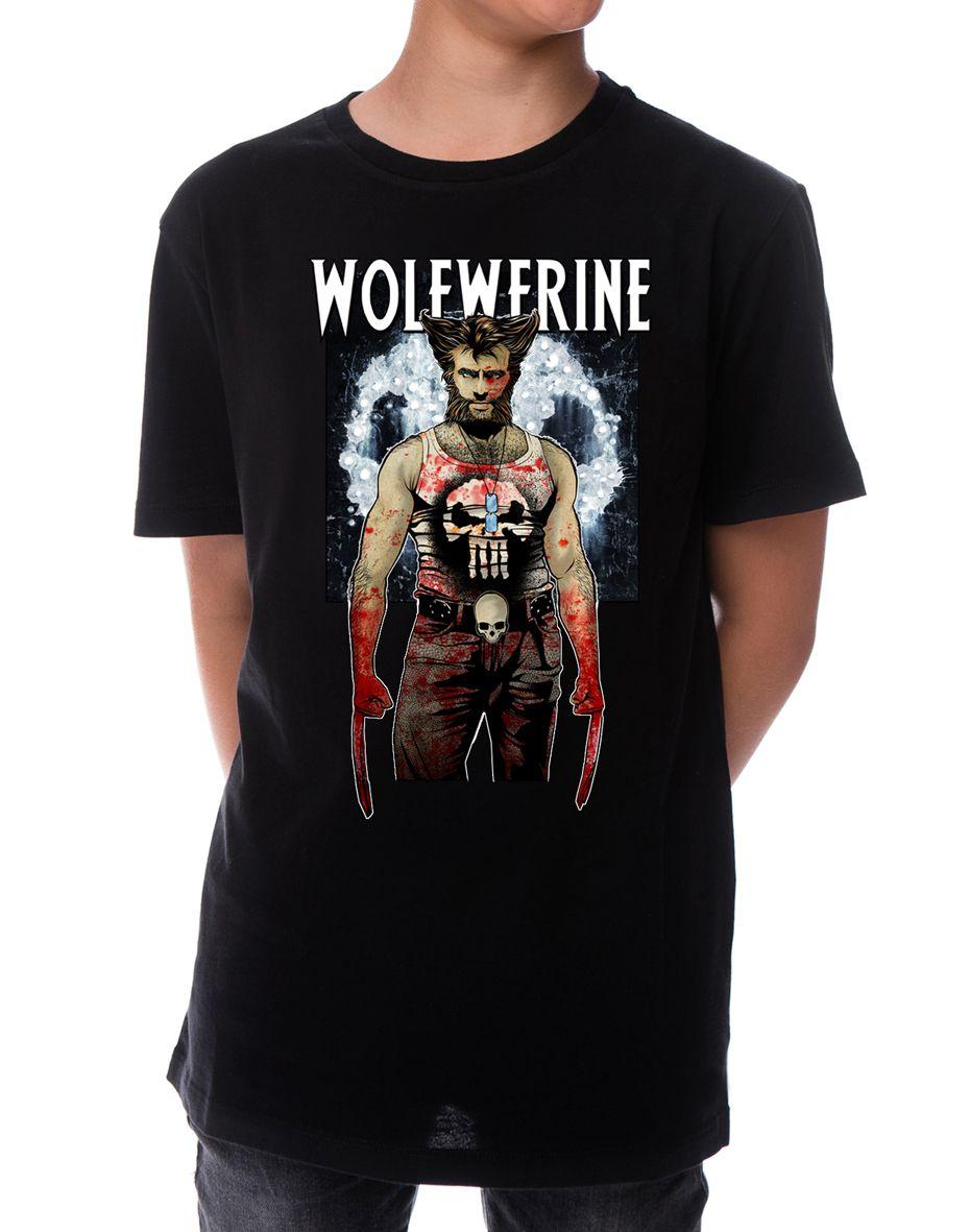 5de6d02ab Comprar Camiseta Lobezno Wolverine Niño
